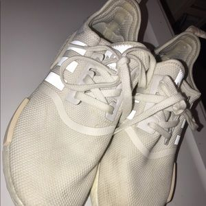 Addidas nmd white sneakers